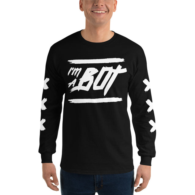 I'm A Bot Long Sleeve T-Shirt | 2XL | Nerd Royale