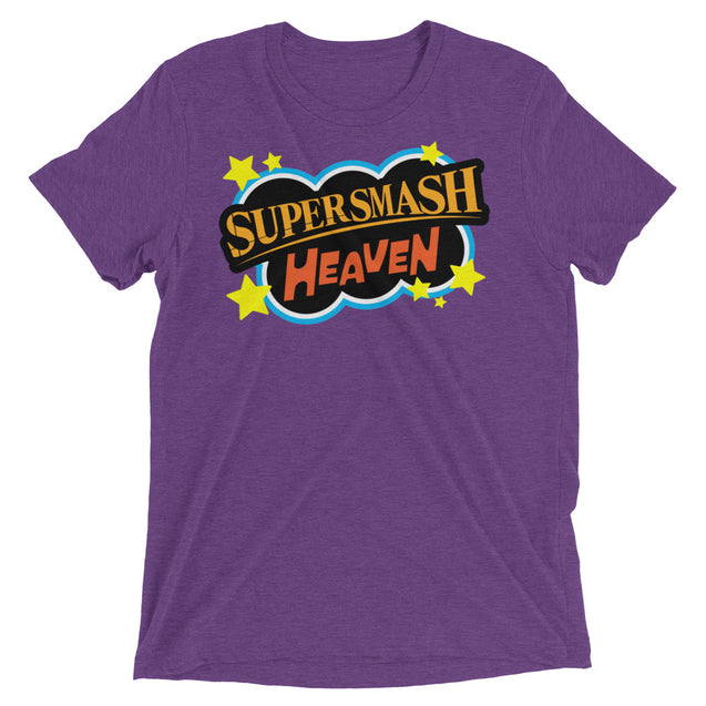 64 Bits - Supersmash Heaven T-Shirt | 3XL | Nerd Royale