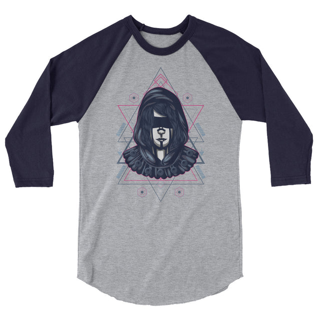 Sacred Assassin Baseball Raglan | 2XL | Nerd Royale