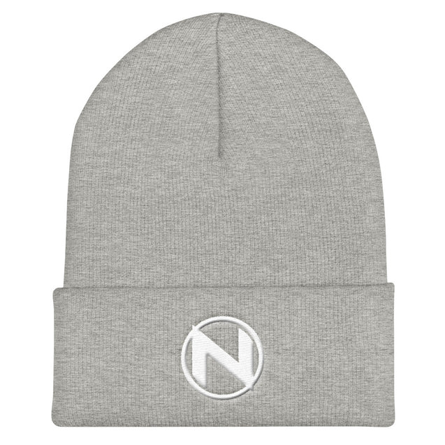 Team NorCal Cuffed Beanie | Heather Grey | Nerd Royale