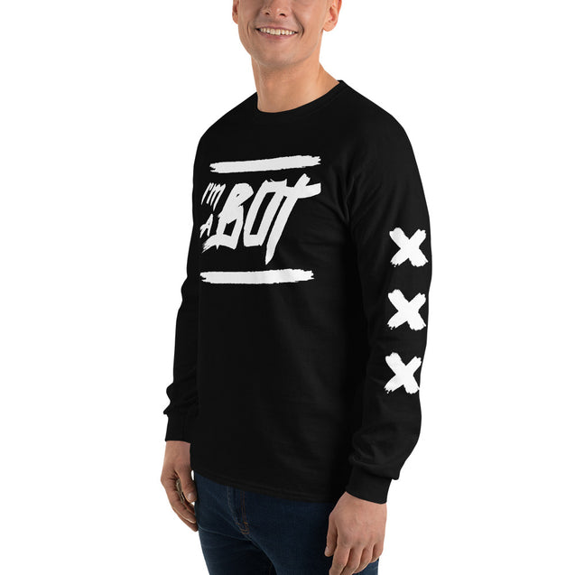 I'm A Bot Long Sleeve T-Shirt |  | Nerd Royale