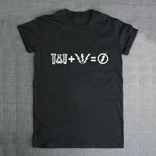 Formula for speed black t shirt