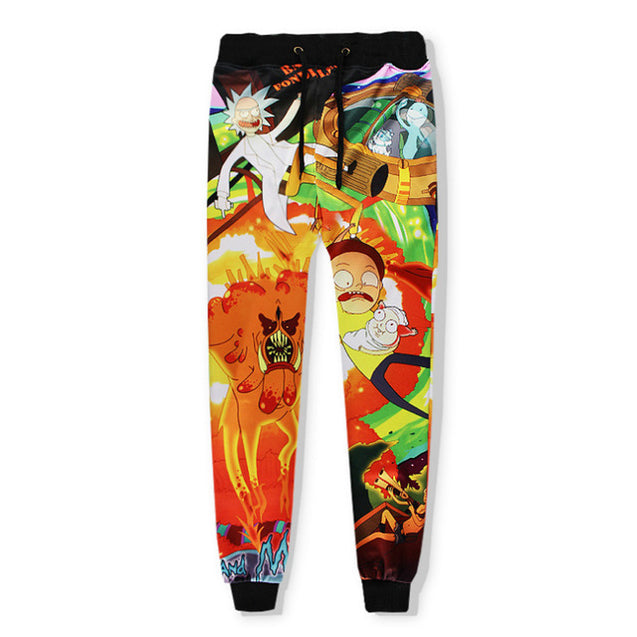 space battle tracksuit pants | Rick and Morty Inspired