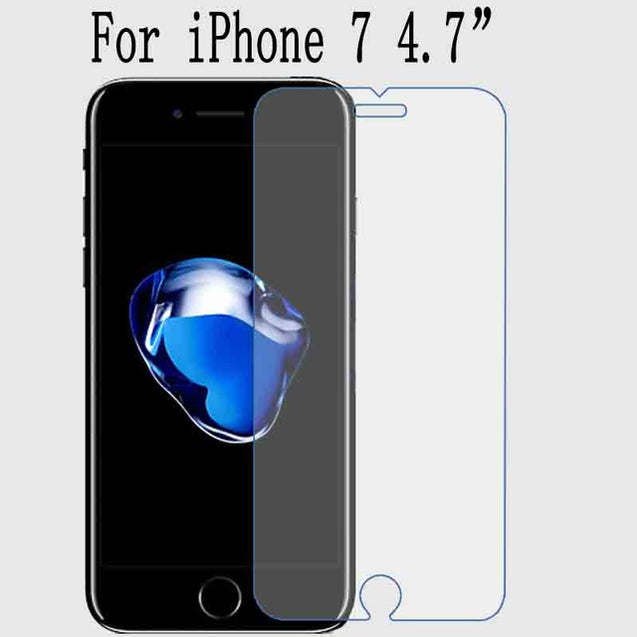High Quality Tempered Glass Screen Protector For iPhone X, 6s, 7 Plus, 8 | Nerd Royale