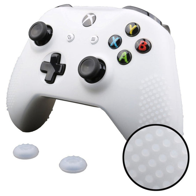 Xbox One Pro Grip with joystick grips (Xbox One X and S) | Clear | Nerd Royale