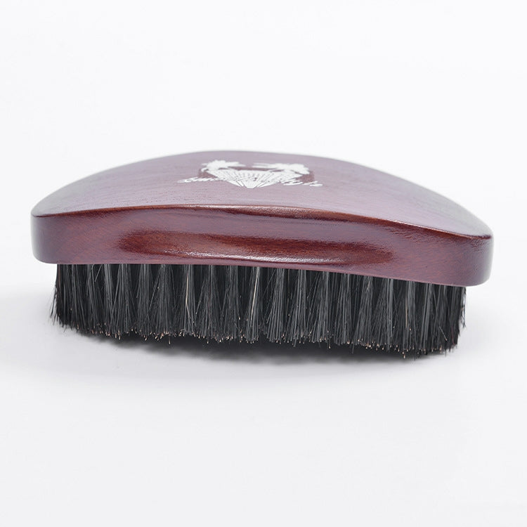 Smooth Stylz 360 Wave Brush ( Dark Brown)