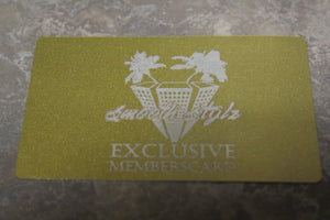 Smooth Stylz Gold Member Card