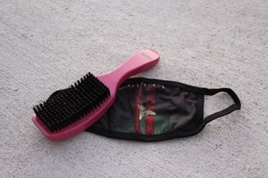 Combo Pack - Gucci Mask + Pink Handle ( medium bristle)