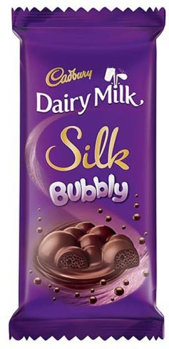 Cadbury Dairy Milk Silk Bubbly 120gms