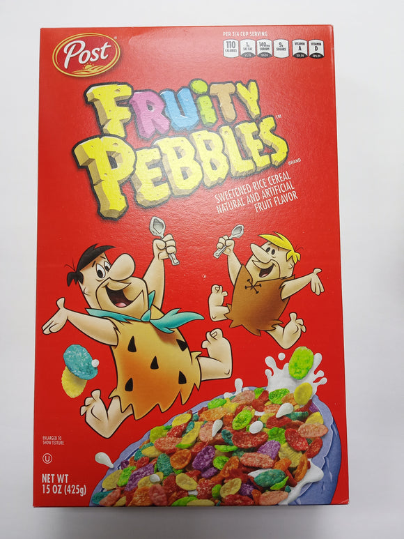 Fruity Pebbles 15 oz