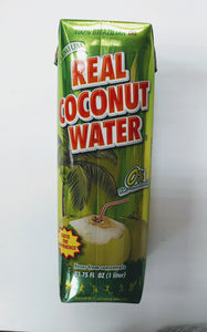 Real coconut water 33.75oz