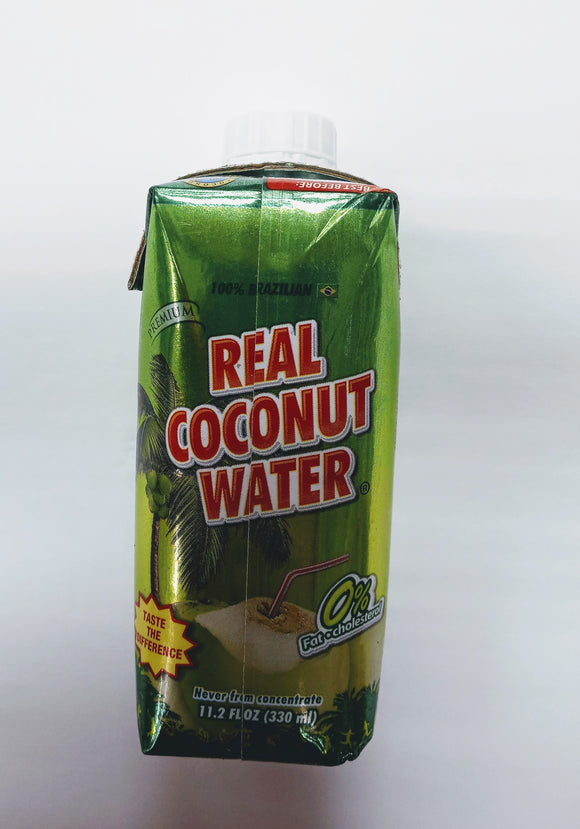 Real coconut water 11.2 fl oz