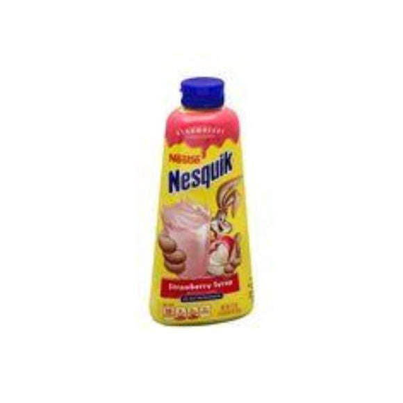 NESQUICK STRAWBERRY SYRUP