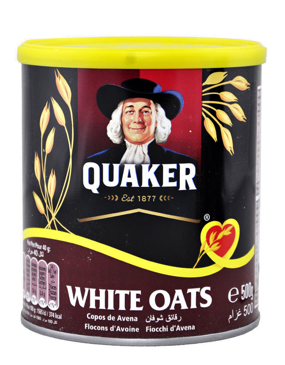 Quaker White Oats 500gms