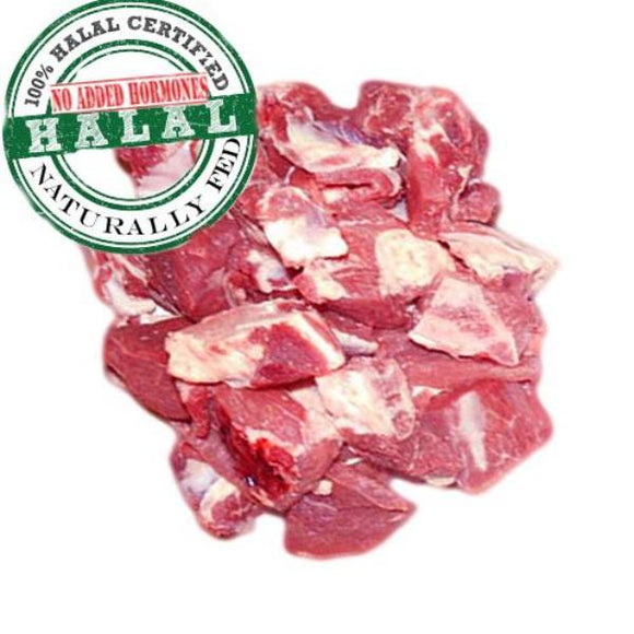 Baby Goat meat mix 1lb