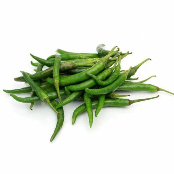 Small Green Chillies 1/2lb