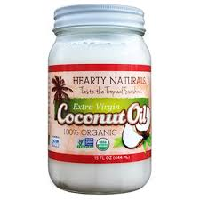 Hearty Natural Organic Coconut Oil 14oz