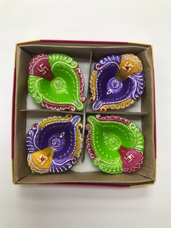 Diya box pack of 4