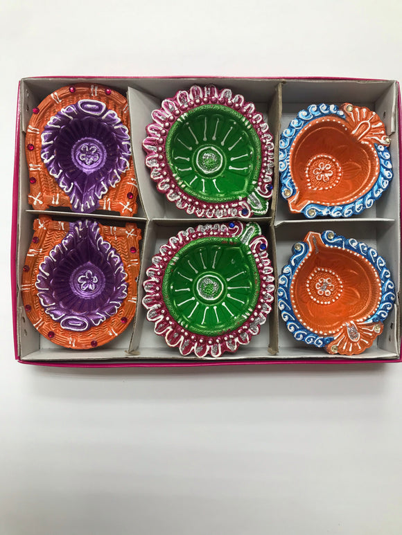 Diya box pack of 6