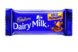 Cadbury Dairy Milk Roast Almond 36gm