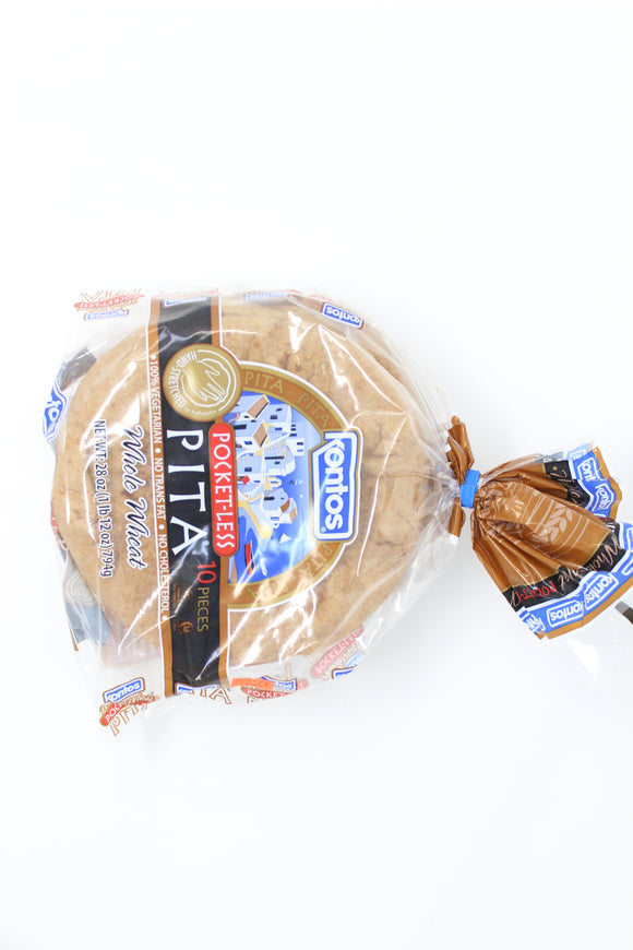 Kontos Whole wheat Pita 28oz 10pcs
