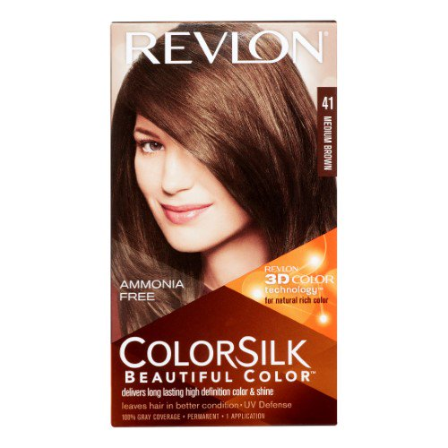Revlon Color Silk Beautiful Hair Color No-41 Medium Brown