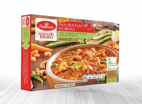 Haldiram Frozen Curries