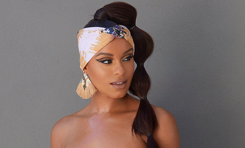 The Kari Bow Tie Head Wrap