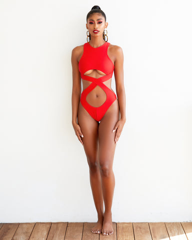 The Rema Cut Out Monokini