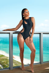 The Basic Bae One Piece - keva J swimwear Monokini - women's swimwear