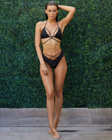 Black Out High Waist Bikini