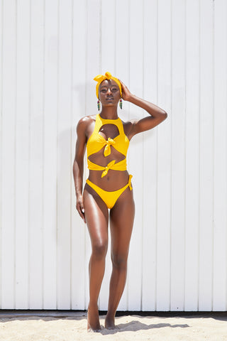 The Nine Mile Asymmetrical Bikini