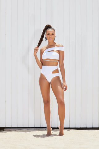 The Kingston Mesh High Waist Two Piece