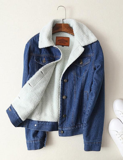 Vintage Fleece Lined Denim Jacket - Everyday Denim
