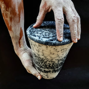 Naked Raku Urn, Hand Crafted, One Of A Kind