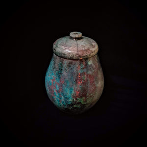Sea Shell Cremation Urn, Hand Crafted unique Urn by Naiim pottery.