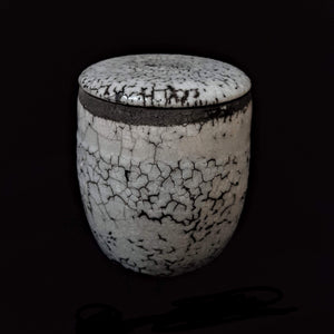 Sloughing High Spirit Cremation Urn, Hand Crafted unique Urn by Naiim pottery.