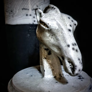 Horse Figurine Unique Urn | Modern Artistic Urn | Ceramic Urn for Human Ashes | Large Urn | Cremation Urn for Adults