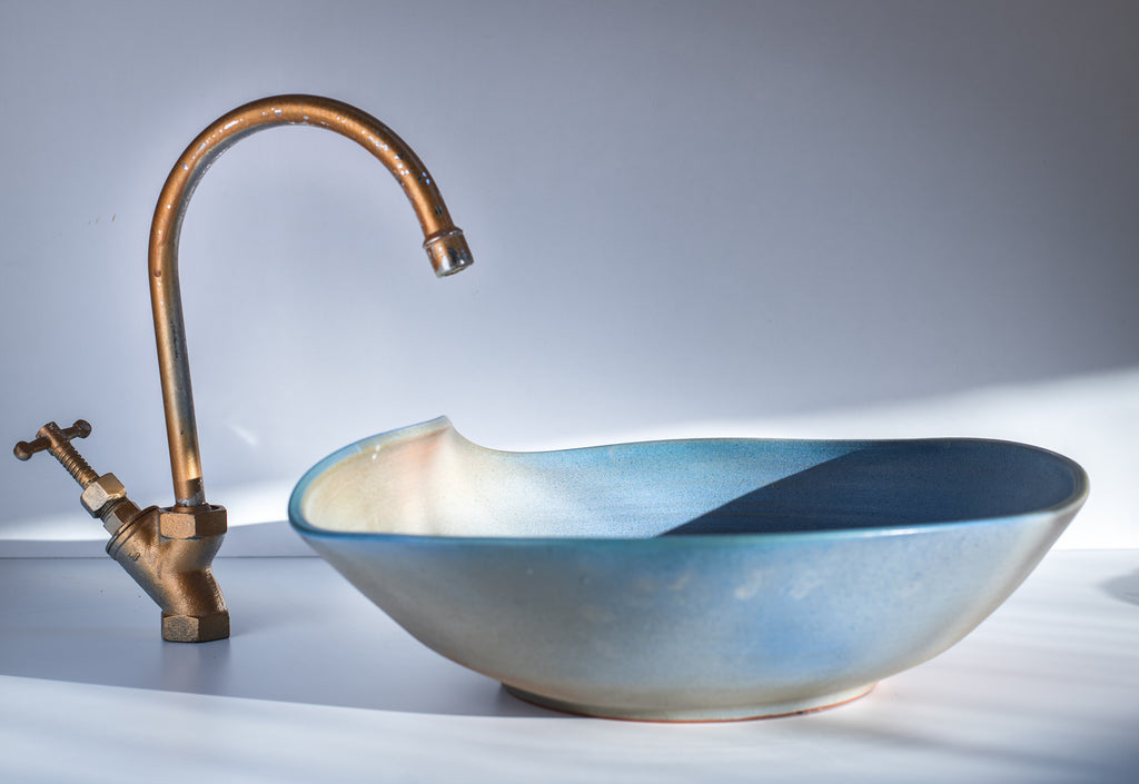 Soft Water, Handmade Sink