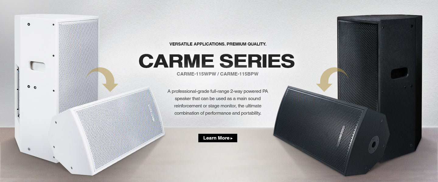CARME SERIES CARME-115BPW CARME-115WPW FULL-RANGE MONITOR COMBO COMBINATION  ALL-IN-ONE SOLUTION