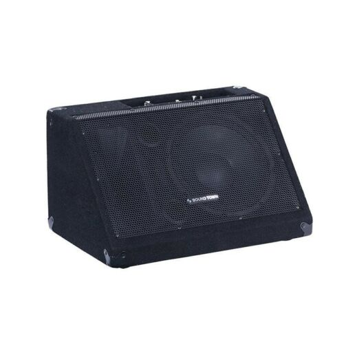 "METIS-10MPW <br/> METIS Series 10"" 300W Powered DJ PA Stage Floor Monitor Pro Audio Speaker w/ Compression Driver for Live Sound, Karaoke, Bar, Church"