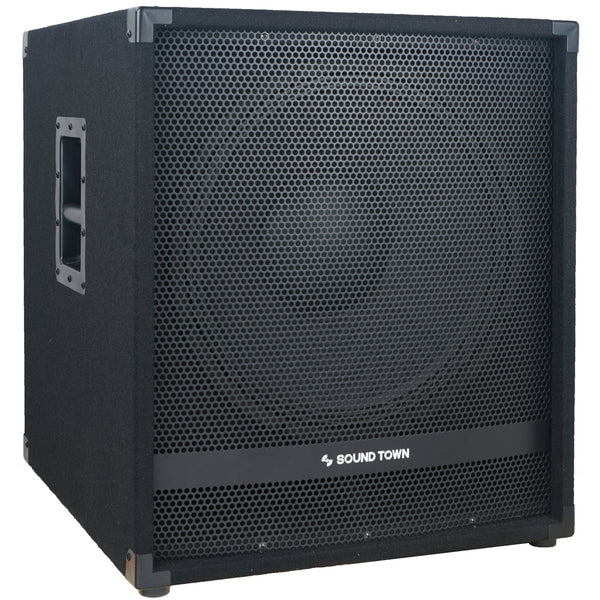"METIS Series 1600 Watts 15"" Active Powered Subwoofer with DSP, DJ PA Pro Audio Sub with 4 inch Voice Coil (METIS-15SPW)"