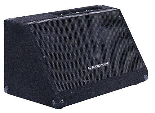 "METIS-12MPW <br/> METIS Series 12"" 500W Powered DJ PA Stage Floor Monitor Pro Audio Speaker with Compression Driver for Live Sound, Karaoke, Bar, Church"