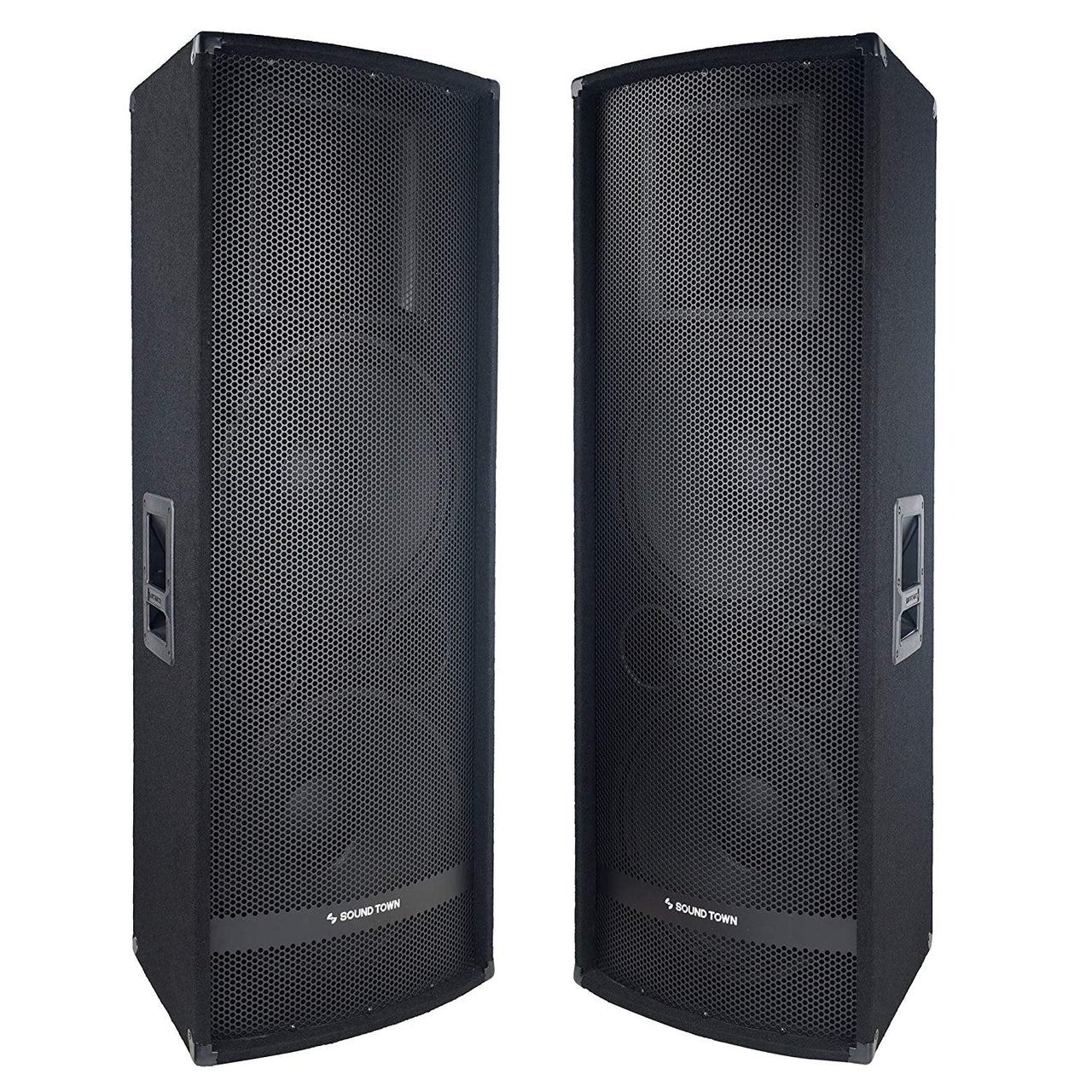 "METIS-215-PAIR<br/>METIS Series 2-Pack Dual 15"" 1400W 2-Way Full-range Passive DJ PA Pro Audio Speaker with Titanium Compression Driver for Live Sound, Karaoke, Bar, Church"