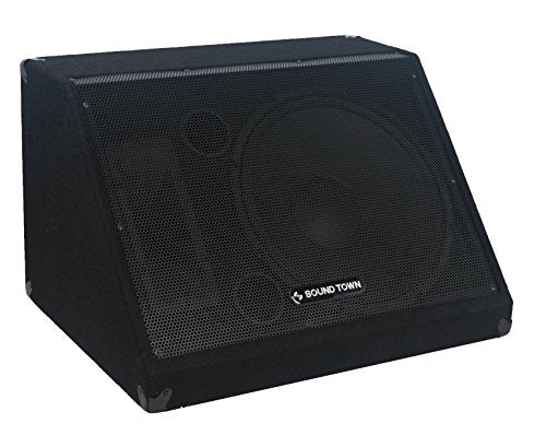 "METIS-15M <br/> METIS Series 15"" 600W Passive DJ PA Stage Floor Monitor Pro Audio Speaker w/ Compression Driver for Live Sound, Karaoke, Bar, Church"