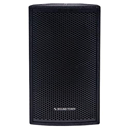 "CARME-108BV2 <br/> CARME Series 8"" 350W 2-Way Professional PA DJ Monitor Speaker, Black w/ Compression Driver for Installation, Live Sound, Karaoke, Bar, Church"