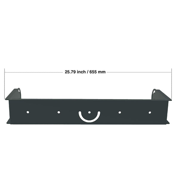 CARME Series Wall Mount Bracket, Black (CARME-208BUBV2)