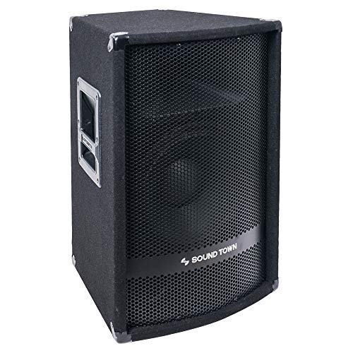 "METIS-112PW<br/>METIS Series 12"" 600W 2-Way Full-Range Powered DJ PA Speaker w/ Bluetooth, Titanium Compression Driver, 3-Channel Mixer"