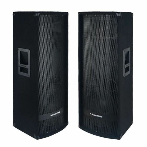 "METIS-212-PAIR<br/>METIS Series 2-Pack Dual 12"" 1200W 2-Way Full-range Passive DJ PA Pro Audio Speaker with Titanium Compression Driver for Live Sound, Karaoke, Bar, Church"
