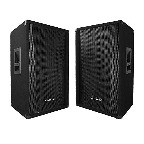 "CALLISTO-15-PAIR <br/> 2-Pack CALLISTO Series 15"" Full-range Passive DJ/PA Speaker"